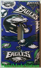 NFL Philadelphia Eagles Light Switch, Power Outlet Duplex Cover Plate Home Decor
