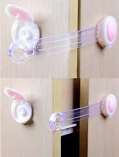 10 Adhesive Baby Child Kids Safety Cabinet Door Fridge Drawer Cupboard Safe Lock