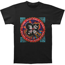 KISS Men's  Rock And Roll Over Slim Fit T-shirt Black