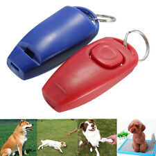 Dog Clicker & Whistle- Training,Obedience,Pet Trainer Click Puppy With Guide 1pc