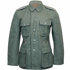 GERMAN Army M40 FIELD GREY Wool TUNIC WW2 All Sizes Repro Wehrmacht Coat Jacket