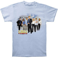 CSI Men's  Miami Cast T-shirt Blue Rockabilia