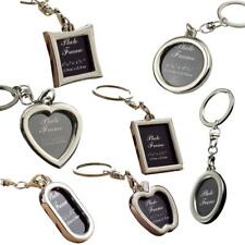 Mini Creative Metal Alloy Insert Photo Picture Frame Keyring Keychain DIY Gifts