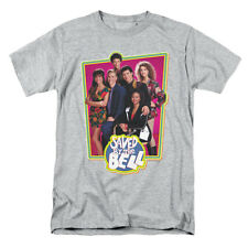 Saved By The Bell Men's  Saved Cast T-shirt Grey Rockabilia