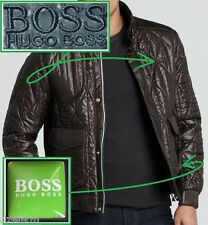NWT Hugo Boss Green Label by Hugo Boss Stylish Winter Quilted Jacket in Black
