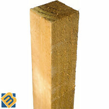 """Timber Fence Posts 3"""" x 3"""" 4"""" x 4"""" - Treated Timber Fencing Posts -- 75mm, 100mm"""