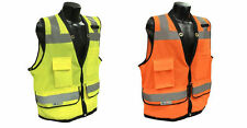 SV59-2 Class 2 Heavy Duty Surveyor Safety Vest ANSI/ISEA 107-2010 Construction
