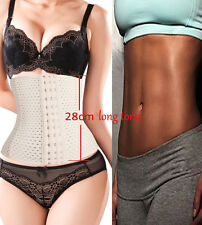 New Waist Cincher Belt Shaper Tummy Girdle Control Slimmer long torso beige hot