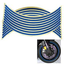 """18"""" 5 Colors Car Motorcycle Wheel Rim Stripe Tape Reflective Decal Stickers 0CN"""