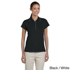Adidas Women's ClimaLite Tour Jersey Short Sleeve Polo. Delivery is Free