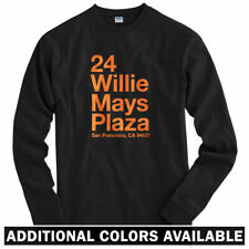 San Francisco Baseball Stadium Long Sleeve T-shirt - LS Men S-4X - Giants Gift