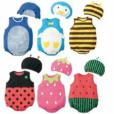 Baby Boy Girl Carnival Fancy Dress Party Costume Outfit Clothes+HAT Set 6-24M