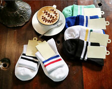 Cotton College retro casual lovers sports socks / five pairs