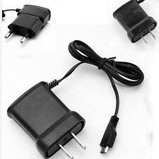 EU/US Plug 5V Micro USB Home Wall Travel AC Charger Adapter For Android Phones