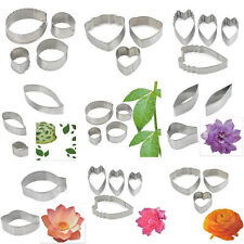 Stainless Steel Mould Flower Leaf Biscuit Fondant Cake Cookie Cutter Baking Mold
