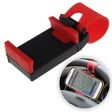 Universal Car Steering Wheel Mount Holder Clips For Cell Phones iPhone SAMSUNG