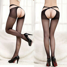 Women Sexy Lady Lace Thigh-Highs Stockings Socks Seperate Garter Belt Suspender