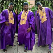 Odeneho Wear Men's 3 Pieces Set Shadda Agbada. African Clothing.