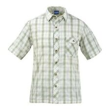 Men's Propper Covert Button-Up - Short Sleeve Sage Plaid. Brand New