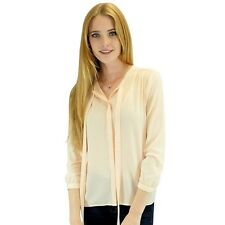 Relished Women's Contemporary Corinne Salmon Long Sleeve Blouse. Shipping Includ