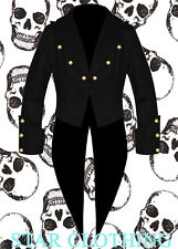 Brand New Cotton Mens Tailcoat Steampunk Goth Victorian Swallowtail Jacket