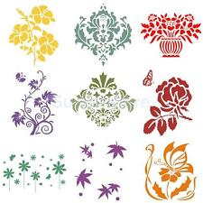 Reusable Wall Painting Stencil Home Upholster DIY Template Crafter Workshop Tool