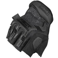 MECHANIX TACTICAL WEAR M-PACT GLOVES FINGERLESS AIRSOFT WORK WEAR COVERT BLACK