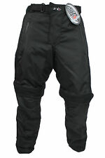 New Mens Textile Cordura Motorcycle Motorbike CE Approved Armoured Trouser Pants