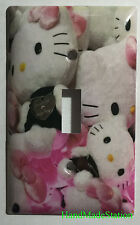 Hello Kitty Pillow Toys Light Switch Power Outlet Cover Plate Home decor