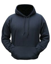 Plain Black Hoodie Pullover - Military / Outdoor / Clothing All sizes available