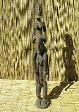 "African Dogon Figures  From Mali 31 "" Tall"