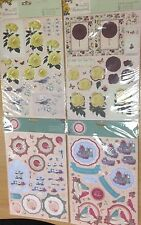 A4 Decoupage Pack Docrafts Papermania die cuts cards tags paper bellissima