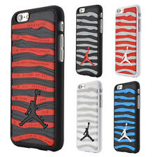 Air Jordan Sports Stripe Shoe Silicone Case For iPhone 6 6S Plus 5S SE S6 Edge