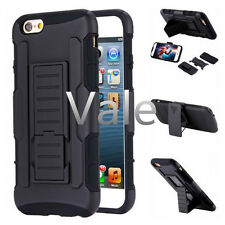Armor Belt Clip Holster Protector Case Stand Cover For iPhone 4 4s 5 5s 6 Plus
