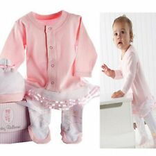 Baby Girl Angel Ballet Costume Suit Dress Outfit One Piece Clothes+Hat Set