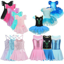 Girl Kid Ballet Tutu Dress Leotard Skirt Princess Dance wear Fancy Dress Costume