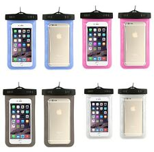 Waterproof Underwater Pouch Dry Bag Case For iPhone Cell Phone Touchscreen CA