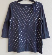 Tommy Hilfiger Women's Crew Neck Blouse Top Size S.