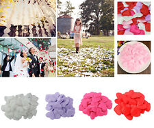 100x Heart Petals Flower Confetti Wedding Engagement Party Table Bed Decoration