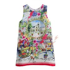 Flower Girl Dress Toddler Princess Floral Birthday Party Summer Holiday Dresses