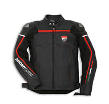 DUCATI Dainese CORSE ´14 Leather Jacket Leather Jacket perforated black new