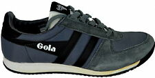 Gola Scarpe Sneakers Pelle Shoes Firefly CMA 473Uomo Men Pelle Grey / Black / Wh