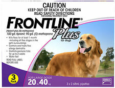 Frontline Plus for Large Dogs 20-40kg (Purple)