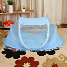 Foldable Infant Baby Mosquito Net Tent Mattress Cradle Bed Canopy Cushion Pillow