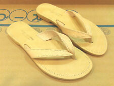 Ancient Greek Style Womens Roman Genuine Leather Handmade Sandals Flip Shoes