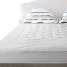 Deep Pocket Mattress Protector Quilted Pad Hypoallergenic Antibacterial Cover