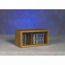 Wood Shed 100 Series 28 CD Multimedia Tabletop Storage Rack. Free Delivery