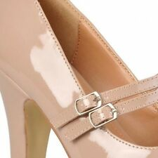 Brinley Co. Womens Wide Width Mary Jane Patent Leather Pumps. Shipping is Free