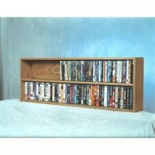 Wood Shed 200 Series 176 DVD Multimedia Tabletop Storage Rack. Delivery is Free