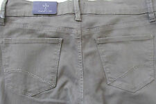Not Your Daughter Jeans NYDJ Lift Tuck Cuffed Dark Olive Capri Jeans - NWT